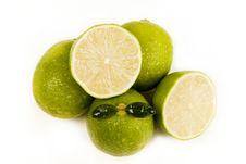 Free Green Lemons Royalty Free Stock Photos - 8928208