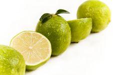 Free Green Lemons Royalty Free Stock Image - 8928226