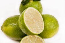 Free Green Lemons Royalty Free Stock Image - 8928236