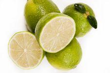 Free Green Lemons Royalty Free Stock Images - 8928259