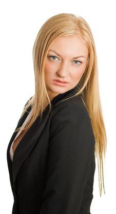 Free Portrait Of Blonde Businesswoman Stock Photo - 8928680