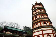 Free Buddhism Tower Stock Image - 8929311