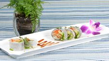 Free Chef S Special Sushi Roll Stock Photography - 8929672