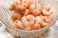 Free Cooked Shrimp Royalty Free Stock Image - 8929706