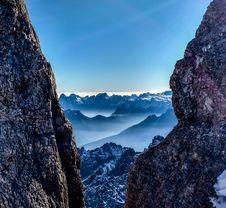 Free Mountain View Royalty Free Stock Image - 89251156