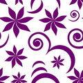 Free Seamless Violet Pattern Royalty Free Stock Photo - 8932515