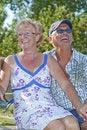 Free Aged Couple Royalty Free Stock Image - 8933626