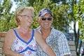 Free Aged Couple Royalty Free Stock Image - 8933686