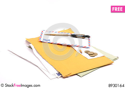 Free Letter Stock Images - 8930164