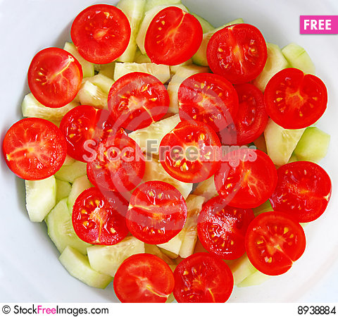 Free Cherry Tomatoes Stock Images - 8938884