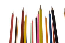 Free Coloured Pencils Royalty Free Stock Photo - 8930225