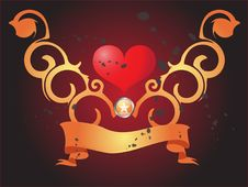 Free Tribal Heart Royalty Free Stock Image - 8930276