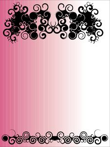 Free Pink Tribal Background Royalty Free Stock Image - 8930286