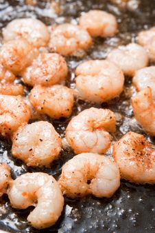 Free Cooking Shrimps Stock Photos - 8931923