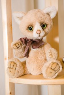 Free Cat Doll Stock Photo - 8932500