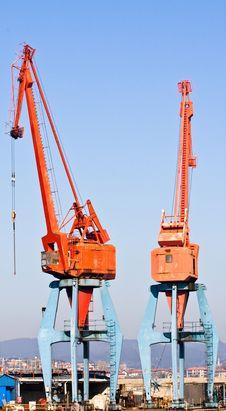 Free Two Cranes Stock Photography - 8932502