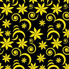 Free Seamless Flower Pattern Stock Photo - 8932520