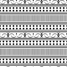 Free Seamless Ornament Pattern Royalty Free Stock Photography - 8932577