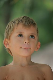 Free Boy Dreaming Stock Photography - 8932802