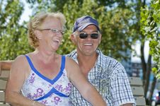 Free Aged Couple Royalty Free Stock Image - 8933686