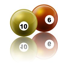 Free Snooker Balls Royalty Free Stock Image - 8933726