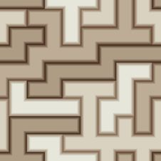 Free Seamless Brown Tile Pattern Stock Photography - 8934152