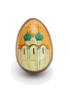 Free Russian Easter Egg Isolated Royalty Free Stock Image - 8935336