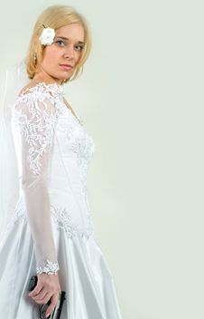 Free Bride Holding The Gun Royalty Free Stock Photography - 8935627