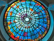 Free Stained-glass Dome Stock Photos - 8935983