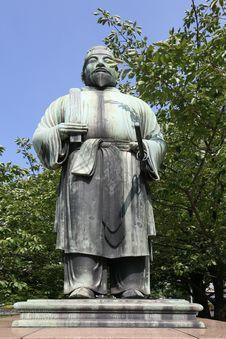 Free Samourai Statue Stock Image - 8937861