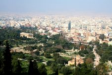 Free Athens Cityscape Royalty Free Stock Images - 8938089