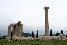 Free Temple Of Zeus.Athens Stock Image - 8938171