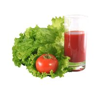 Free Fresh Salad And Tomato. Royalty Free Stock Photo - 8938435