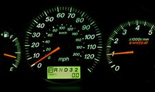 Car Gauges Royalty Free Stock Photos