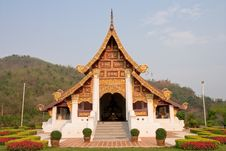 Free Northern Traditional Thai Style Architecture Royalty Free Stock Photos - 8939828