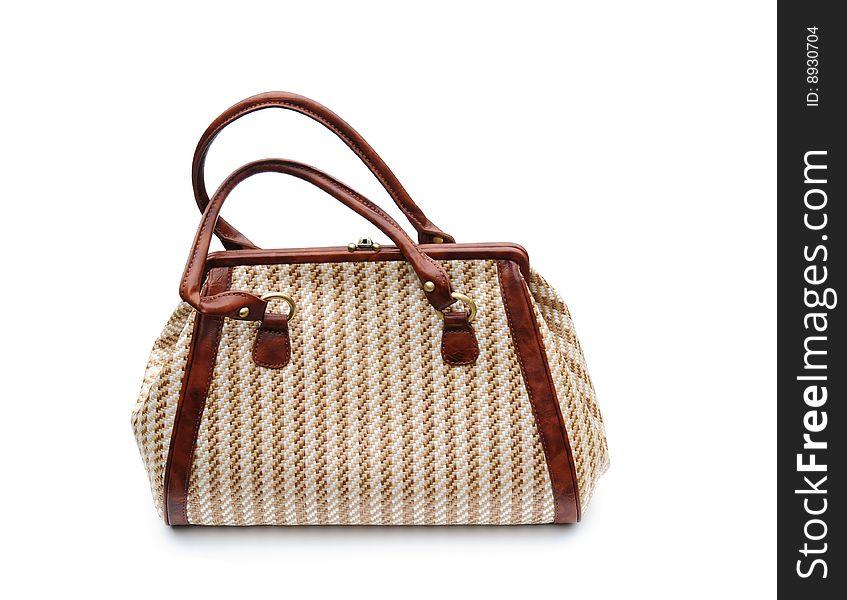 Stripey bag