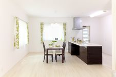 Free Interior Of Contemporary Dining Room Royalty Free Stock Images - 89305199