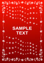 Free Floral Frame With Stars Design. Royalty Free Stock Photo - 8941365