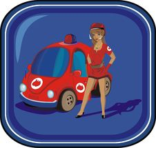Free Firewoman Royalty Free Stock Photo - 8940405