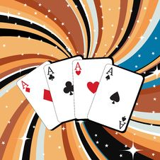 Free Gambling Cards Stock Images - 8940664