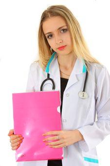 Free Beautiful Lady Doctor Stock Photo - 8942980