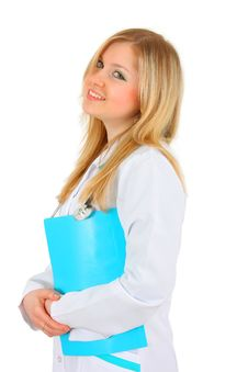 Free Beautiful Lady Doctor Royalty Free Stock Photos - 8943018