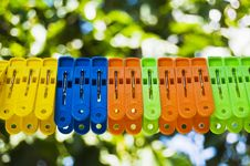 Free Clothespins Stock Images - 8943814