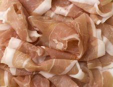 Raw Ham Royalty Free Stock Images