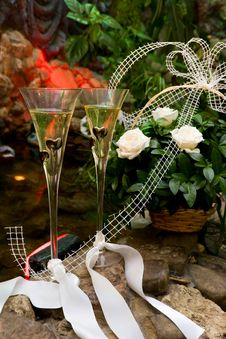 Free Wedding Composition Royalty Free Stock Photography - 8944327