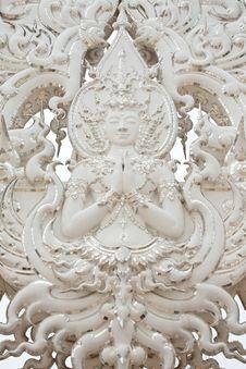Free Deva Statue In Thai Style Royalty Free Stock Photos - 8944508