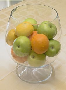 Free Fruit In A Glass Stock Image - 8944721
