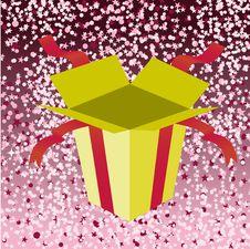 Free Open Birthday Giftbox Royalty Free Stock Photo - 8944965