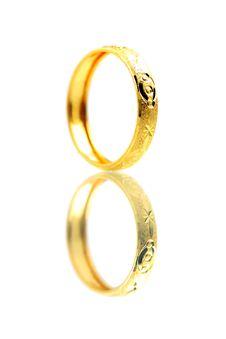 Golden Ring Stock Image