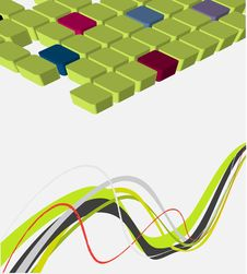 Free Vector Abstract Design Royalty Free Stock Images - 8946509